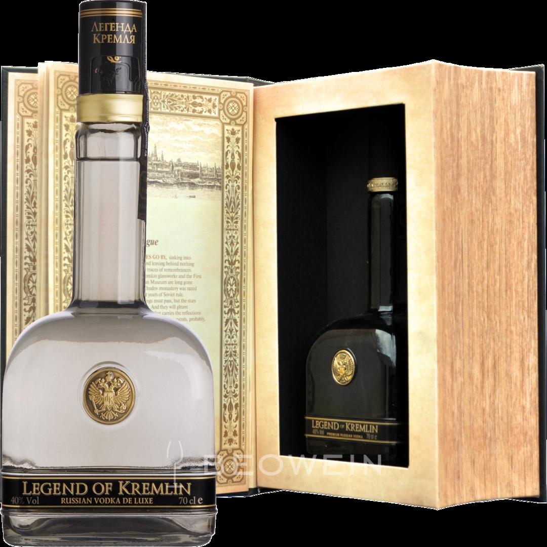 Kremlin vodka - ordered by the Kremlin 80