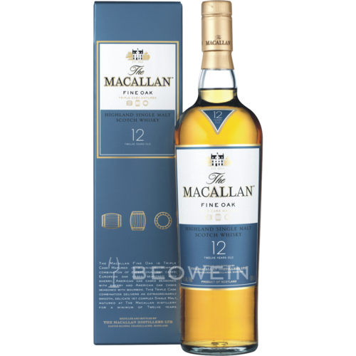 The Macallan Fine Oak 12 Jahre 0,7 l