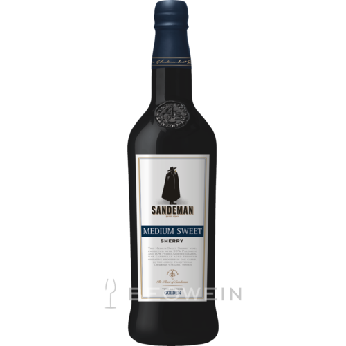 Sandeman Medium Sweet Sherry 0,75 l