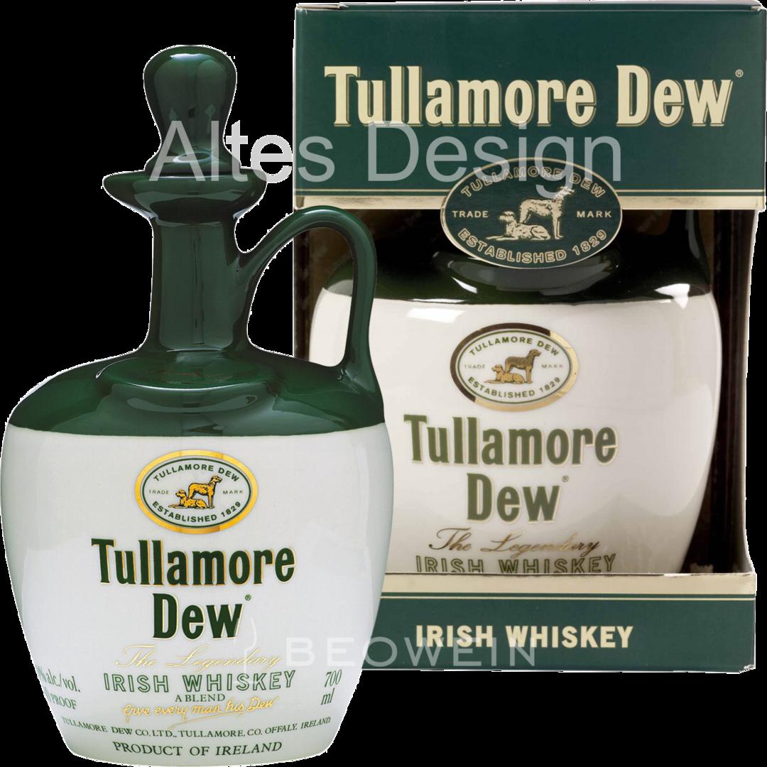 Tullamore Dew Ceramic Crock 0 7 L Beowein Mail Order
