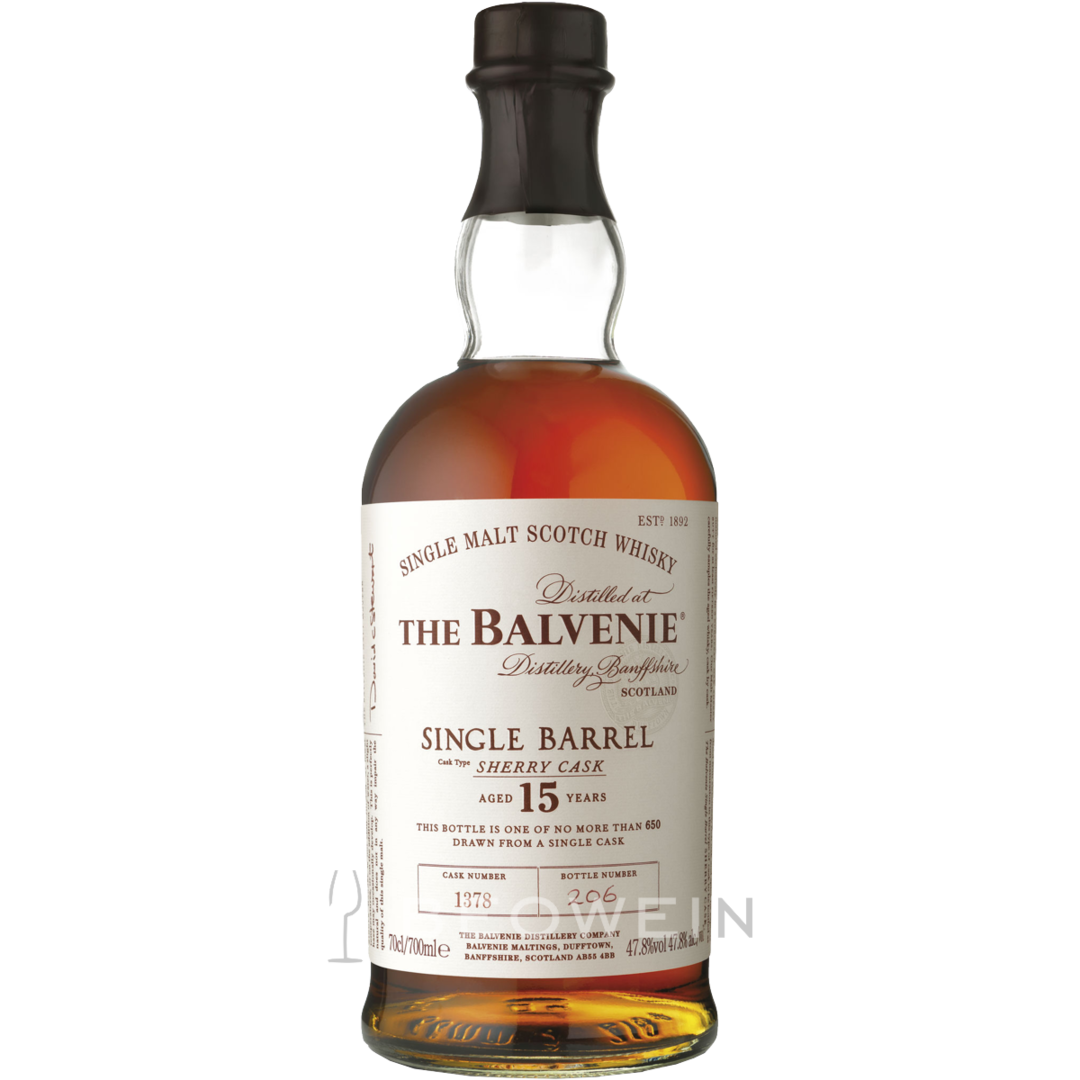Balvenie single barrel sherry
