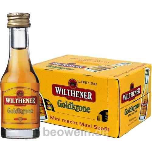 Wilthener Goldkrone, Mini 24x0,02 l