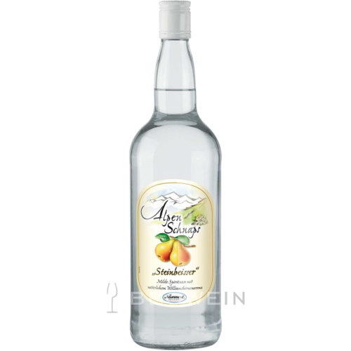 Alpenschnaps Steinbeisser Williams-Birne 1,0 l