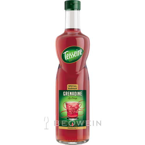 Teisseire Special Barman Sirup Grenadine 0,7 l