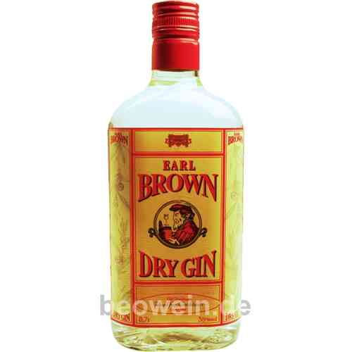Earl Brown Dry Gin 0,7 l