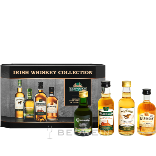 Kilbeggan Irish Whiskey Collection - Probierpack 4x5 cl