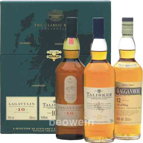 The Classic Malts Collection Strong 3 x 0,2 l