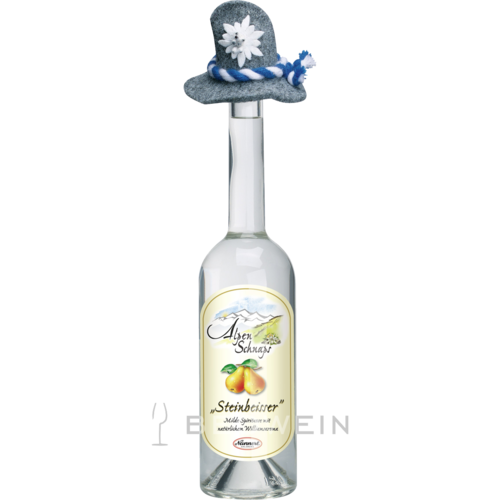 Alpenschnaps Steinbeisser Williams-Birne 0,5 l