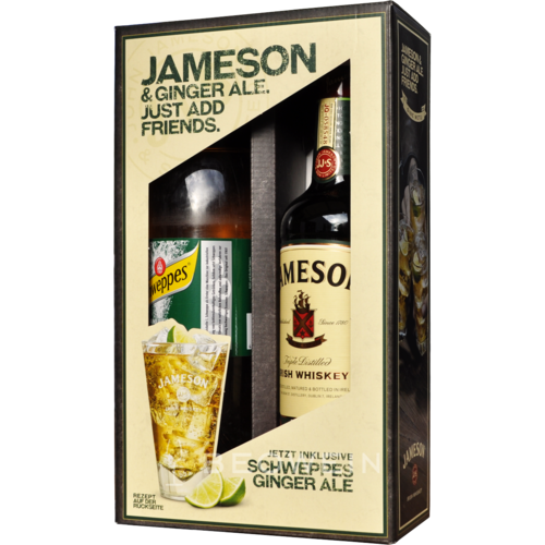 Jameson Irish Whiskey 0,7 l Gift Box