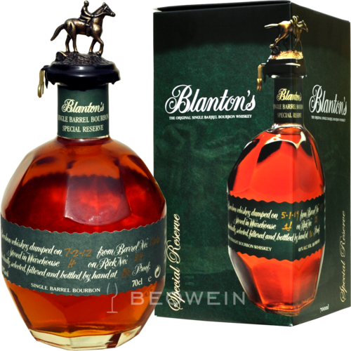 Blanton's Special Reserve Bourbon Whiskey 0,7 l