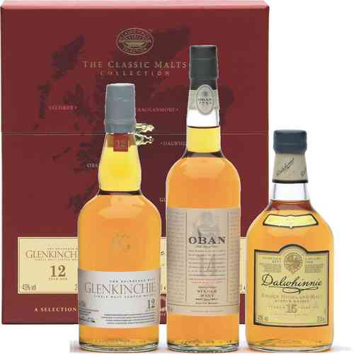 The Classic Malts Collection Gentle 3 x 0,2 l