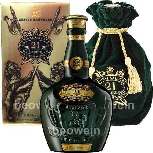 Chivas Regal 21 Jahre Royal Salute Emerald 0,7 l