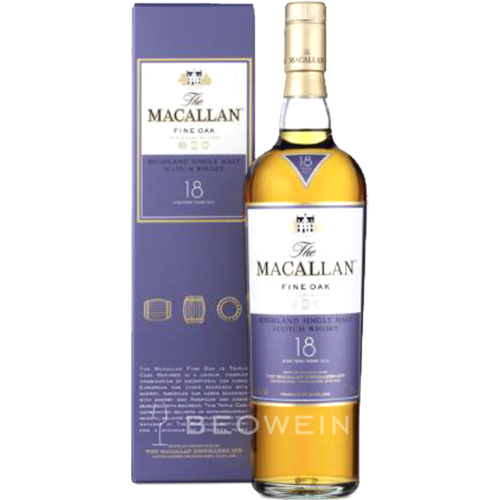 The Macallan Fine Oak 18 Jahre 0,7 l