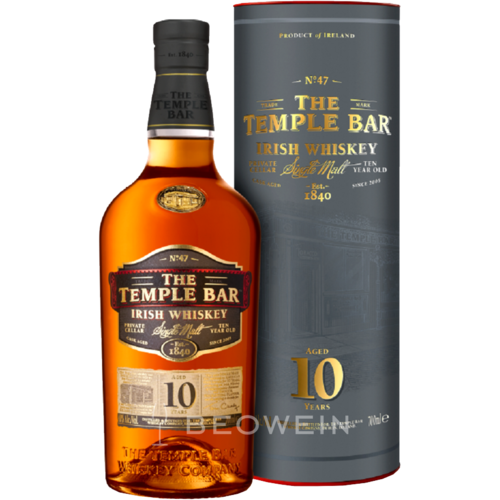 The Temple Bar Single Malt 10 Jahre 07 L Kaufen Bei Beowein