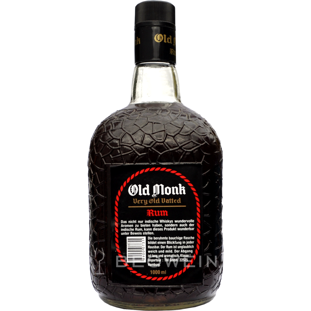 Old Monk 7 Year Old 1,0 l - buy rum online at beowein mail order