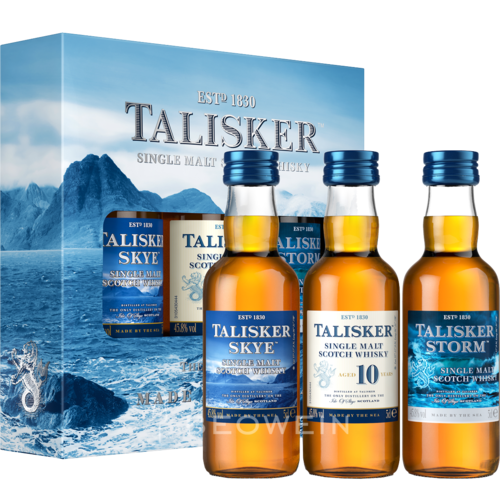 Talisker Single Malt Tasting Set 3 x 0,05 l Miniaturen
