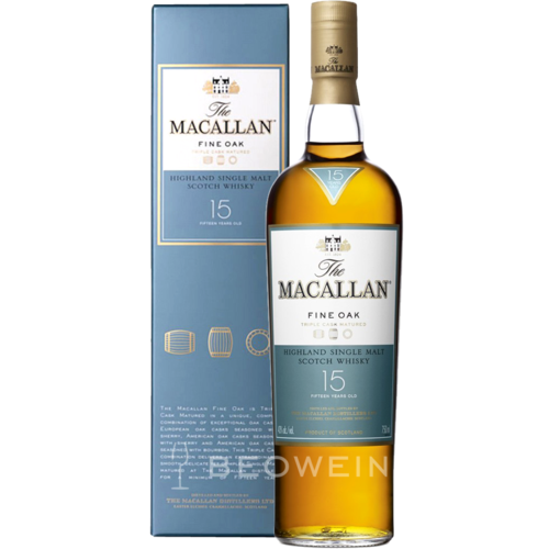 The Macallan Fine Oak 15 Jahre 0,7 l