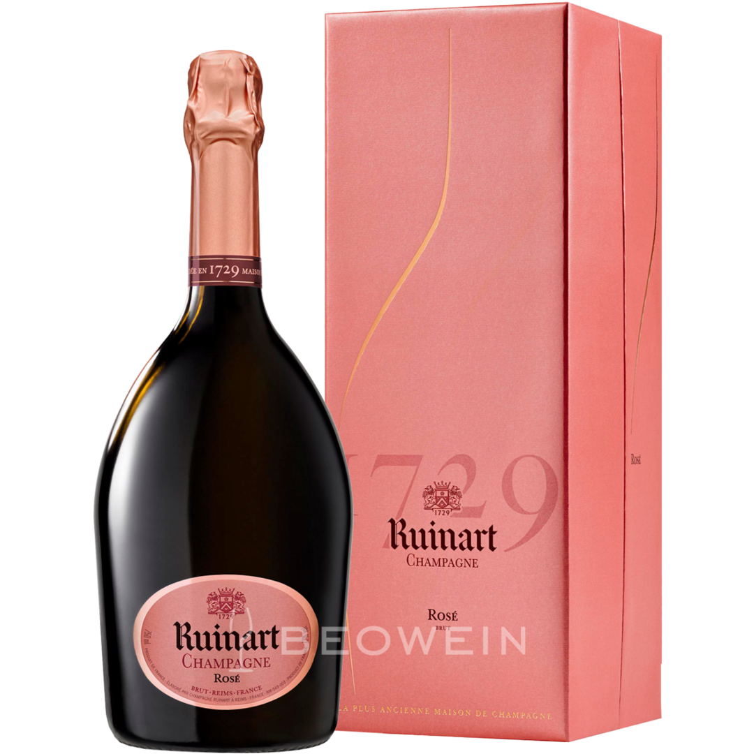 Ruinart Champagne Rose Brut 0 75 L In Gift Box At Beowein Shop