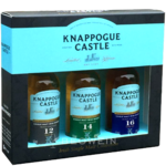 Knappogue Castle Irish Whiskey Set 3x0,05 l Miniaturen