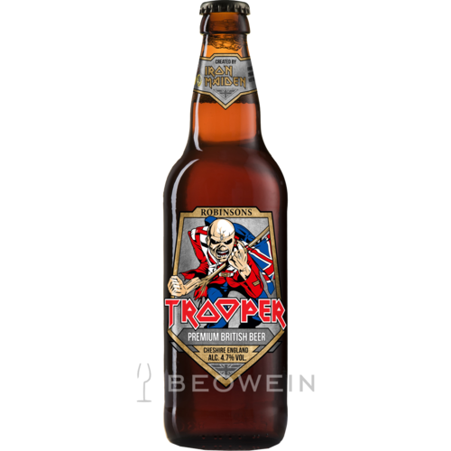 Iron Maiden Trooper Ale Beer 0,33 l Bier