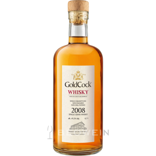 Gold Cock Single Grain Whisky 2008 0,7 l