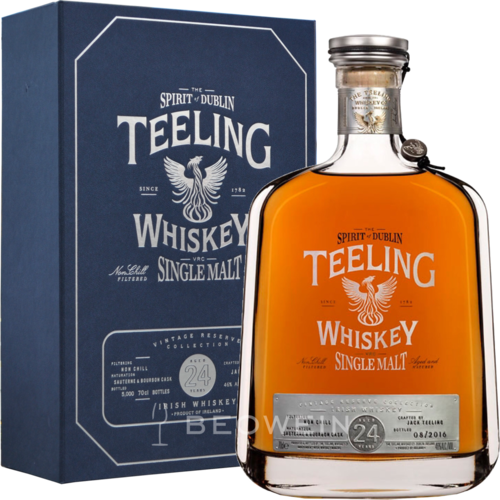 Teeling 24 Jahre Single Malt Whiskey 0,7 l