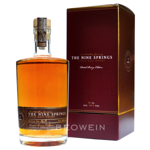 The Nine Springs Peated Breeze Edition Oloroso 0,5 l