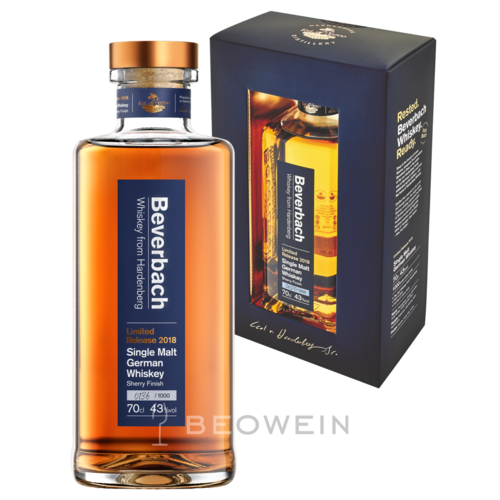 Beverbach Whiskey Limited Release 2018 0,7 l